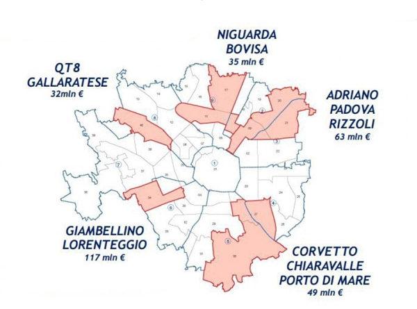 le periferie di Milano