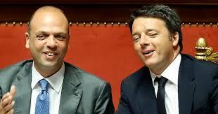 RENZI E ALFANO