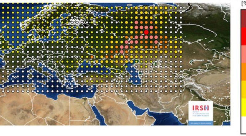 France Europe Radioactivity