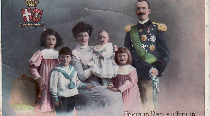famiglia reale italiana