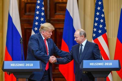 conferenza stampa Trump Putin