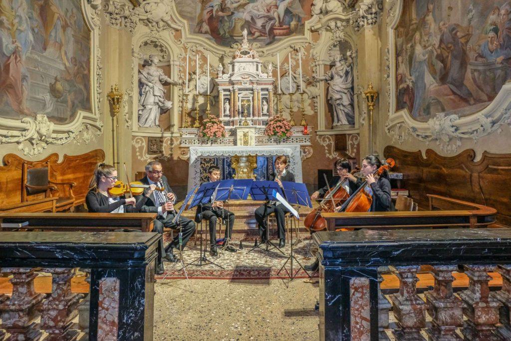 ENSEMBLES VOLPES in concerto a Scaria
