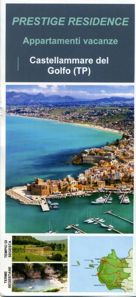 Prestige Residence vacanze a Castellamare del Golfo (TP) Sicilia