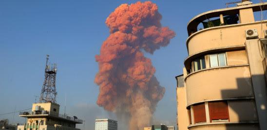 esplosione a Beirut
